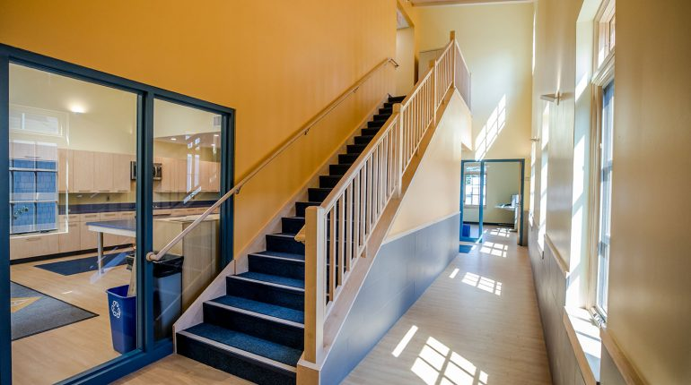 Beverly School for the Deaf Staircase